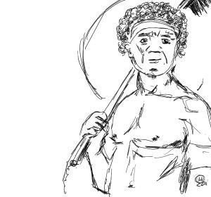 The Native Brush Man