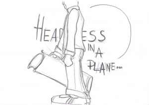 Headless in a Plane