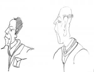 Old Men and their Strange After Shave.
