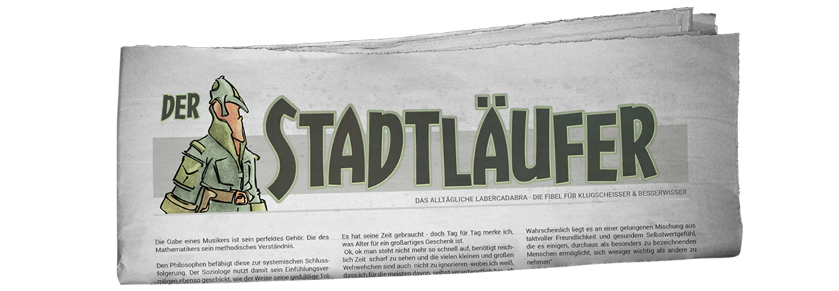 stadtlaeufer chronicles