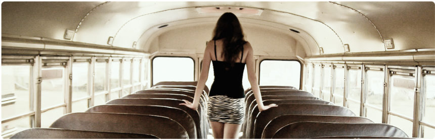 Verständnisvoll Bus fahren